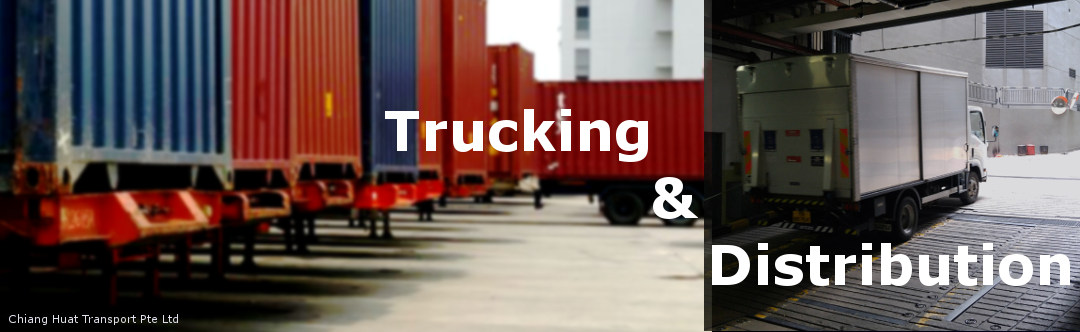 International Trucking & Delivery of FCL, LCL, Air Cargo